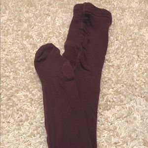 Other - FlynnO'Hara Maroon Tights